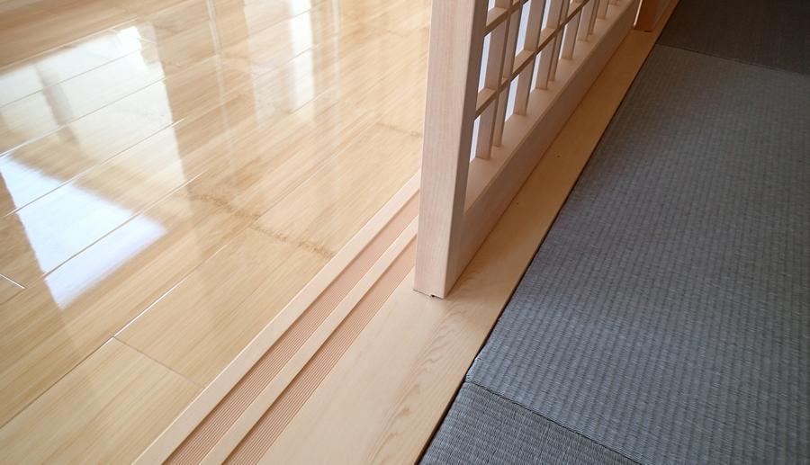 竹のフローリング